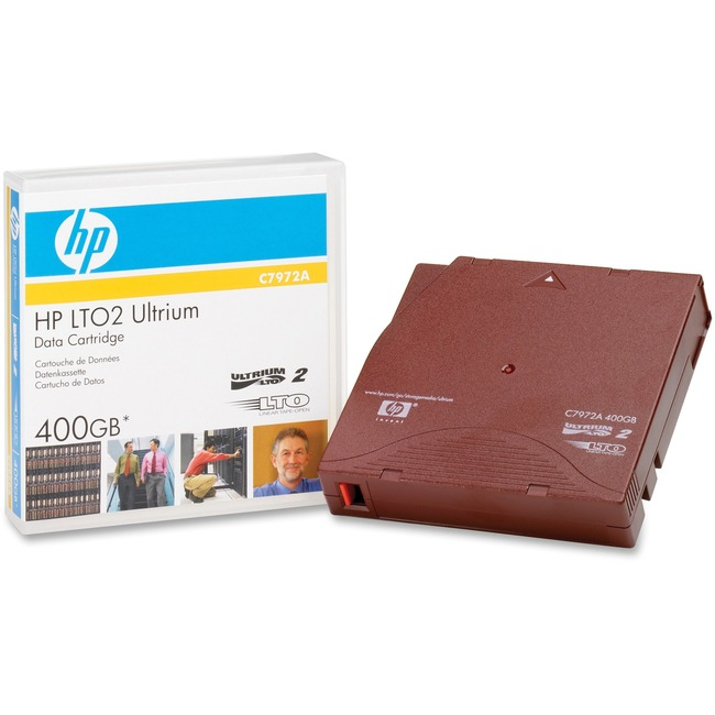 HP Ultrium 400GB Prelabeled Data Cartridge
