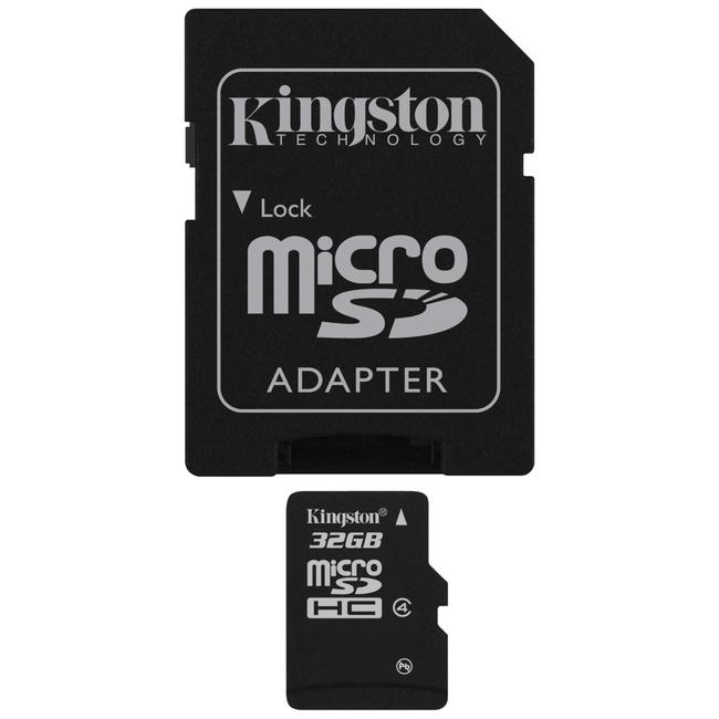 Kingston SDC4/32GB 32 GB microSDHC - 1 Card