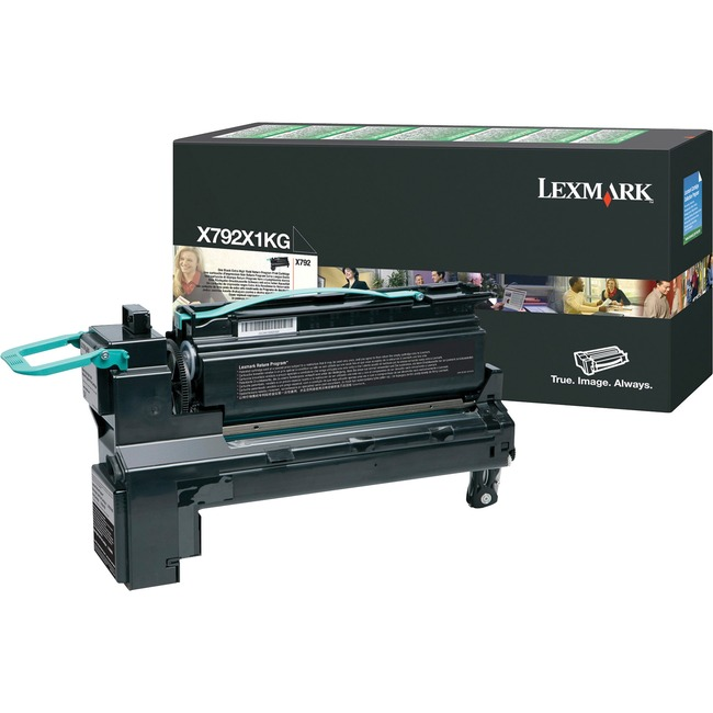 Lexmark X792X1KG Extra High Yield Return Program Toner Cartridge