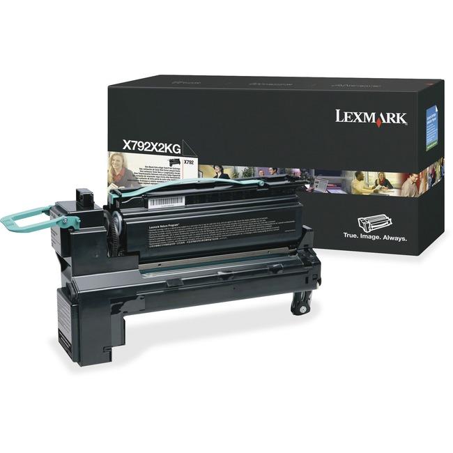 Lexmark X792X2KG Toner Cartridge | Black