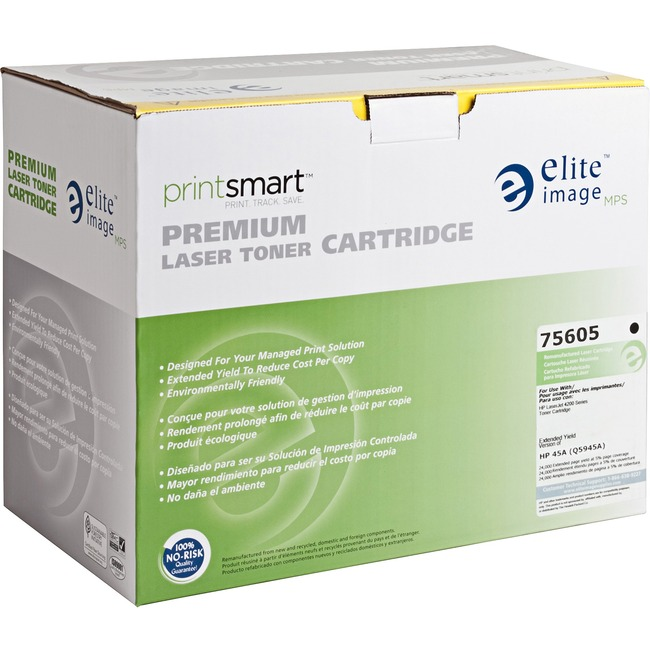 Elite Image Remanufactured Toner Cartridge - Alternative for HP 45A (Q5945A)