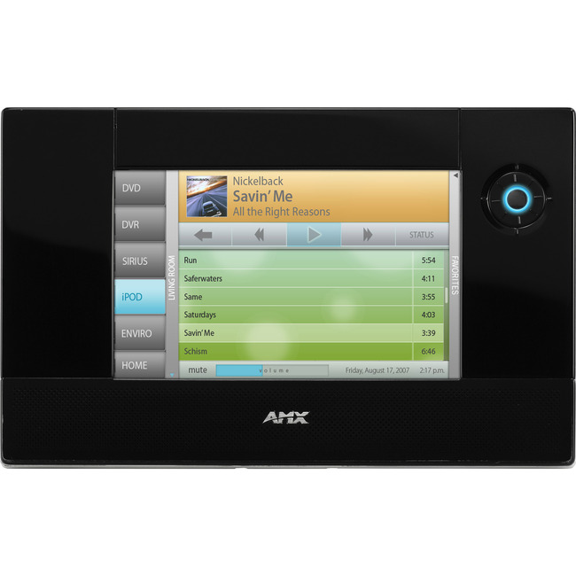 "AMX Modero ViewPoint MVP-5200i 5.2"" Touch Panel With Intercom"