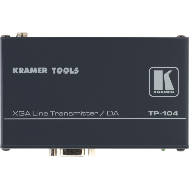 TWISTED PAIR-VGA 1:4 XGA &HDTV TRANSMITTER