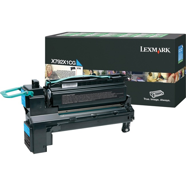 Lexmark X792 Toner Cartridge - Cyan
