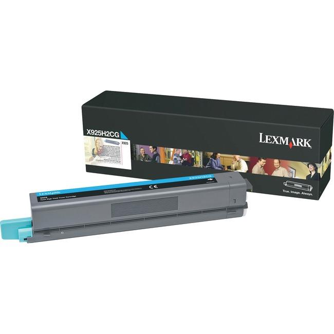 Lexmark X925H2CG Toner Cartridge - Cyan