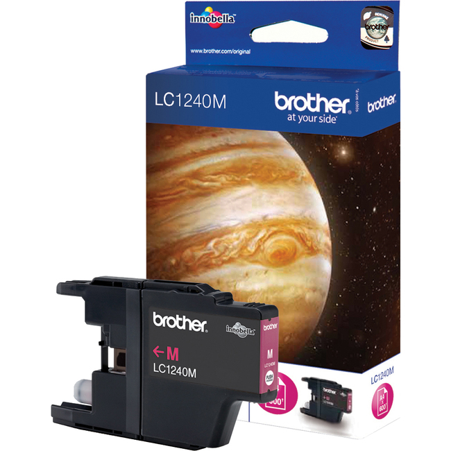 Brother LC1240M Ink Cartridge - Magenta