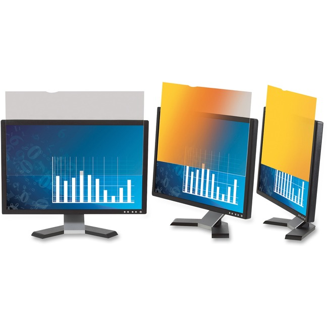3M Gold GPF17.0 Gold Privacy Screen Filter - 1 x Box - For 43.2 cm 17inch Monitor