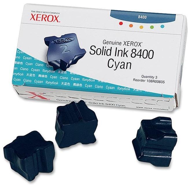 Xerox Cyan Solid Ink Stick