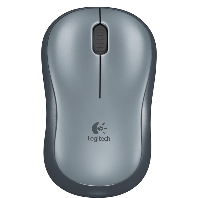 Logitech M185 Mouse - Optical - Wireless - Grey