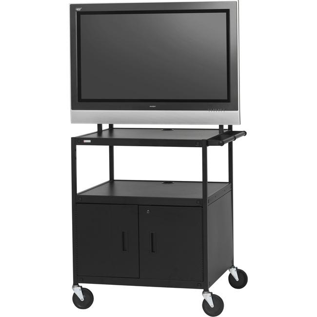 Bretford Basics FP42ULC-E5BK A/V Equipment Cabinet