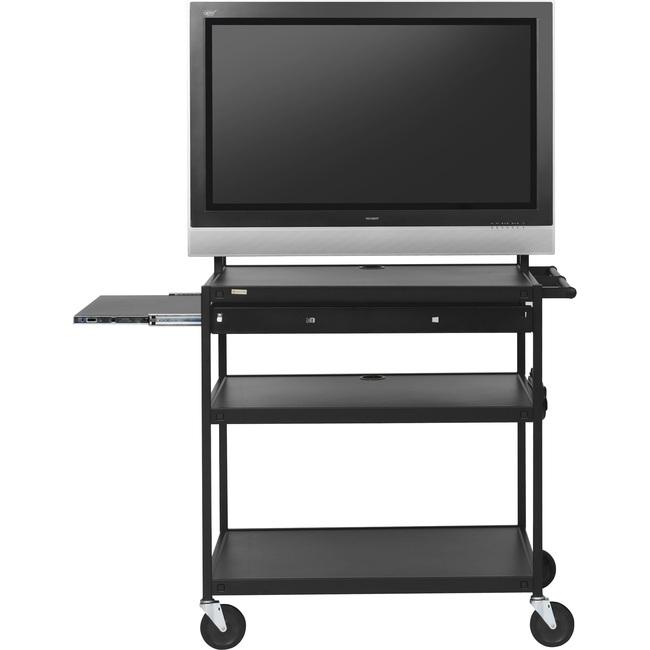 Bretford Basics FP42MULC-E5BK A/V Equipment Cabinet