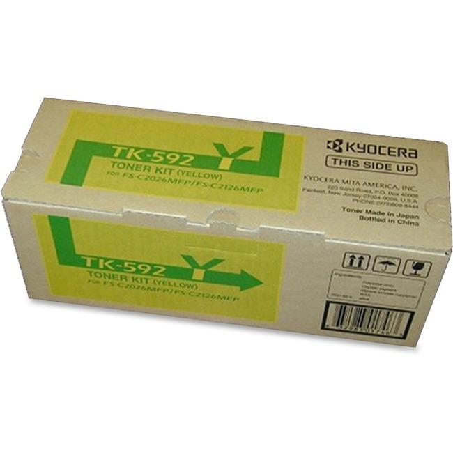 Kyocera TK-592Y Original Toner Cartridge
