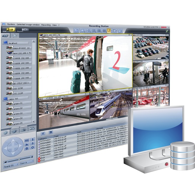Bosch Recording Station v.8.10 - Complete Product