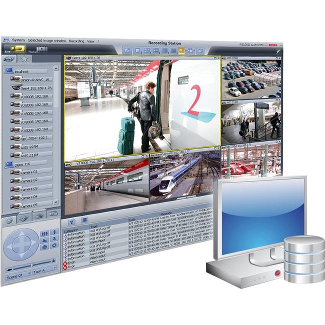Bosch Recording Station - 16 IP Camera
