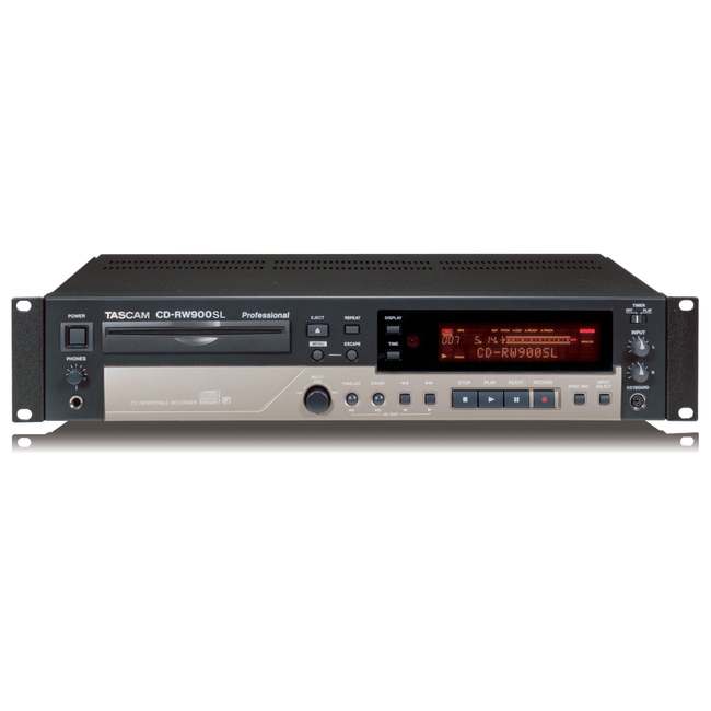 TASCAM CD-RW900SL Professional Slot Loading CD Recorder MP3 ...