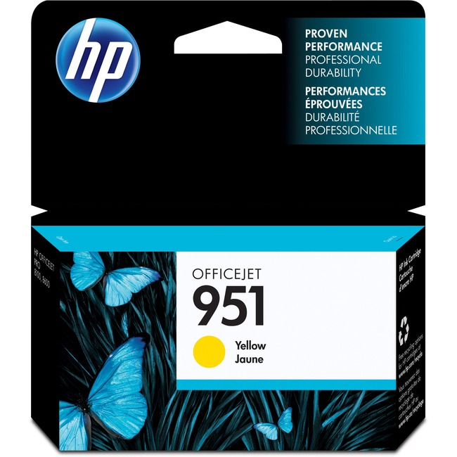 HP INC. - INK 951 YELLOW OFFICEJET INK CARTRIDGE
