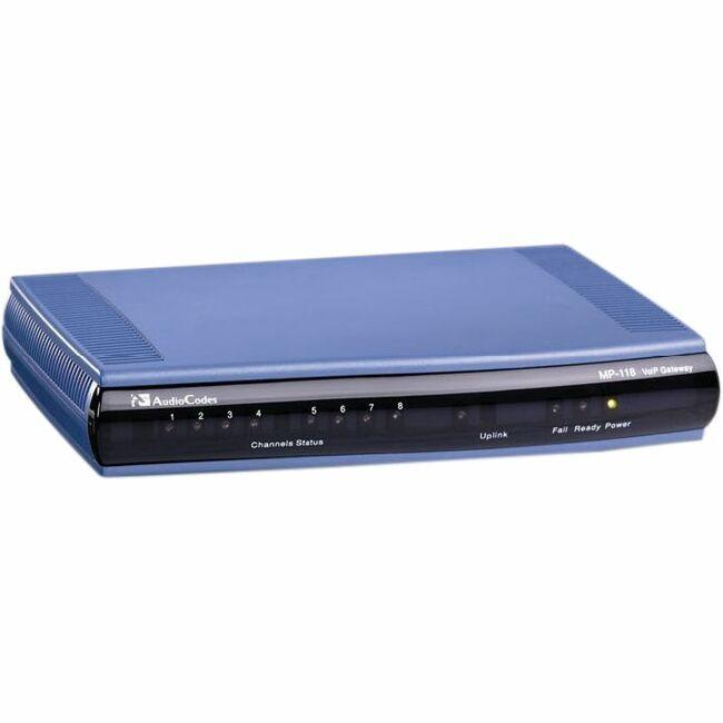AudioCodes MediaPack MP-118 VoIP Gateway