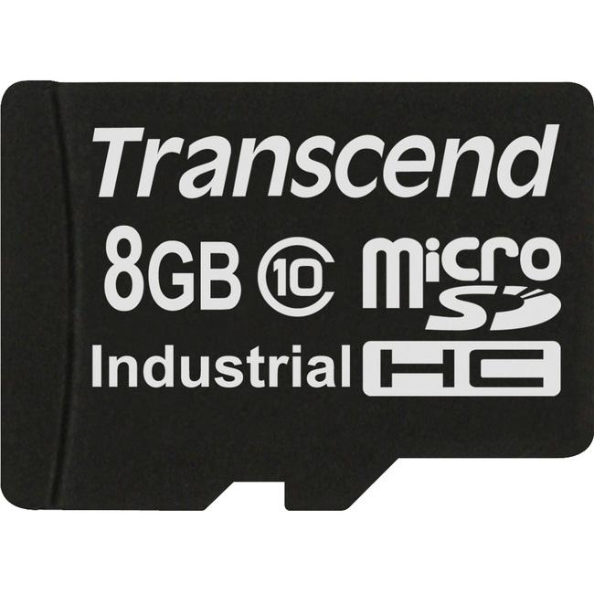 Transcend TS8GUSDHC10 8 GB microSDHC - Class 10 - 1 Card