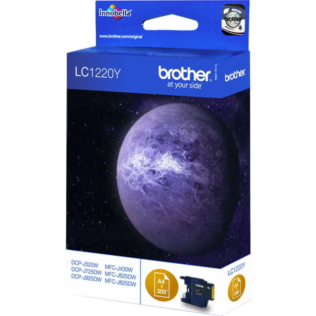 Brother Innobella LC1220Y Ink Cartridge - Yellow