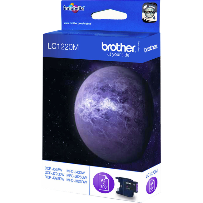 Brother Innobella LC1220M Ink Cartridge - Magenta