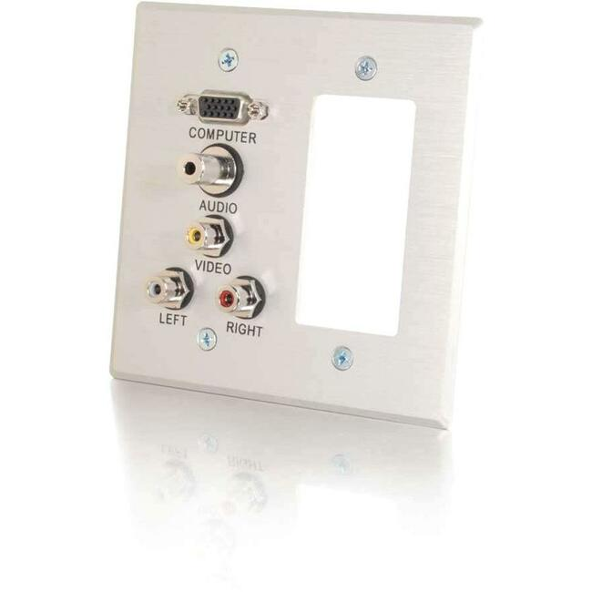 C2G Classic 41027 Faceplate - Large