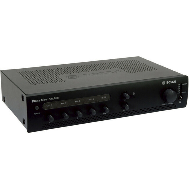 Bosch Plena PLE-1ME240-US Amplifier - 240 W RMS - Charcoal