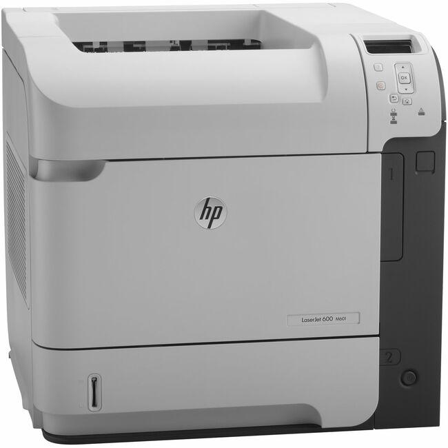 HP LaserJet 600 M601DN Laser Printer - Monochrome - 1200 x 1200 dpi Print - Plain Paper Print - Desktop