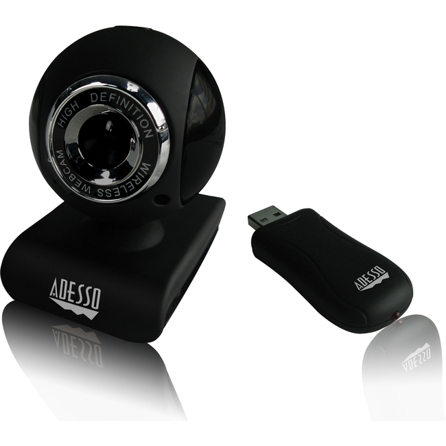 Adesso CyberTrack V10 Webcam - 0.3 Megapixel - 25 fps - USB 2.0