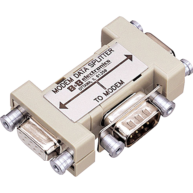 B+B 9PMDS 9-Pin RS232 Modem Data Splitter