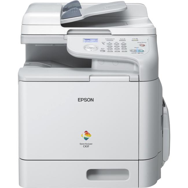 Epson AcuLaser CX37DN Laser Multifunction Printer - Colour - Plain Paper Print - Desktop