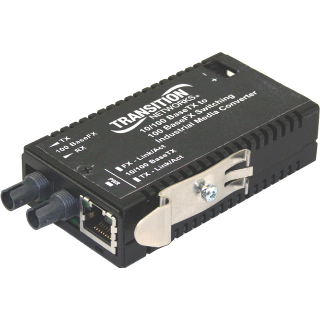 Transition Networks M/E-ISW-FX-01 Transceiver/Media Converter M/E-ISW-FX-01ACMMLC - Large