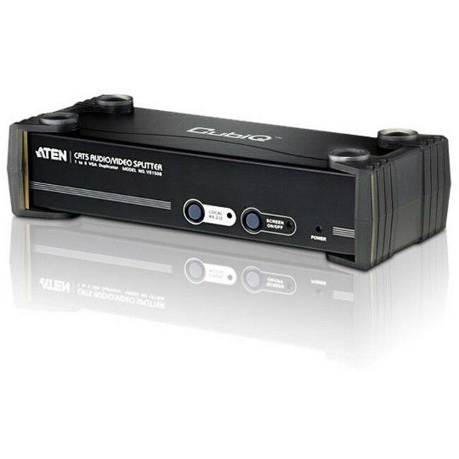 Aten 8-Port VGA/Audio Cat5e/6 Splitter with RS-232