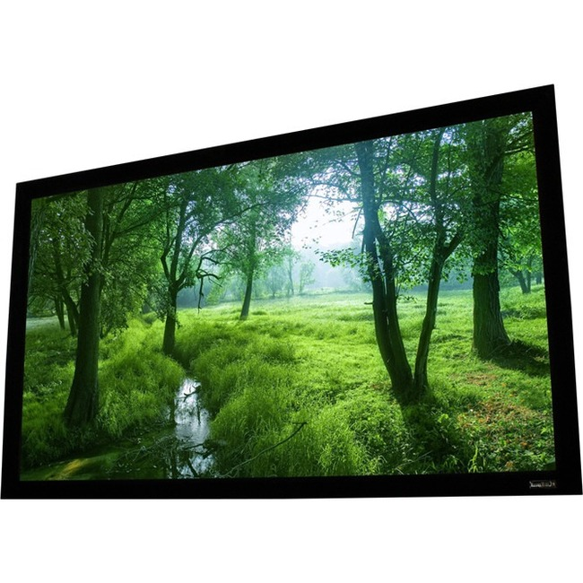 ELUNEVISION ELARA 92IN 16X9 WHITE FIXED FRAME SCREEN
