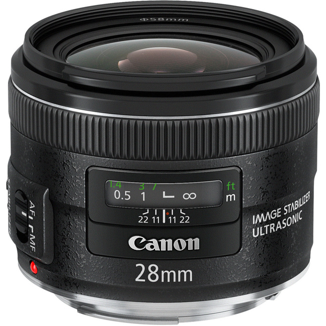 Canon - 28 mm - f/2.8 - Wide Angle Lens for Canon EF/EF-S