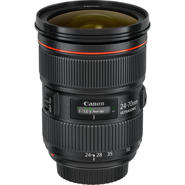 Canon - 24 mm to 70 mm - f/2.8 - Zoom Lens for Canon EF/EF-S