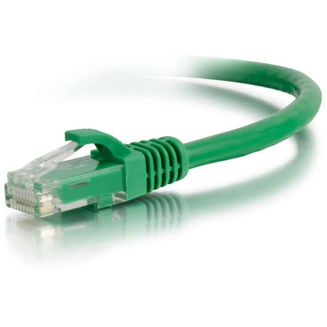 5ft Cat6 Snagless Unshielded (UTP) Network Patch Cable | Green