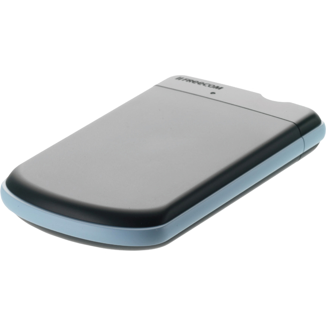 Verbatim Freecom 500GB Tough Drive Portable Hard Drive, USB 3.0 - Grey