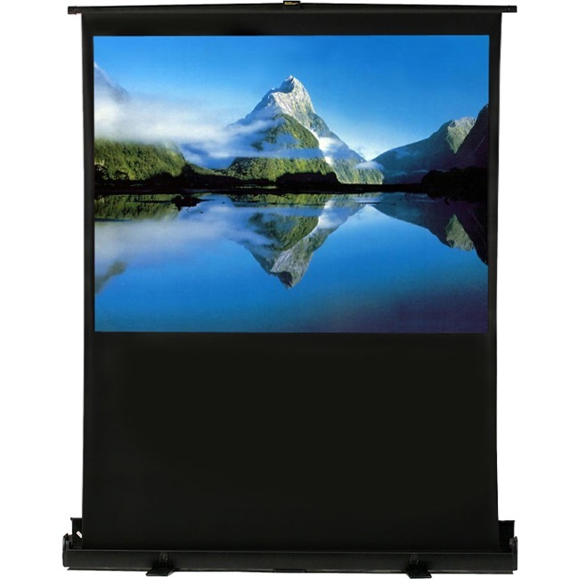 ELUNEVISION 80IN 16X9IN PORTABLE AIR LIFT PROJECTION SCREEN