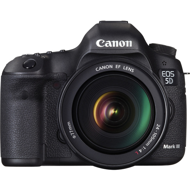 Canon EOS 5D Mark III 22.3 Megapixel Digital SLR Camera with Lens - 24 mm - 105 mm