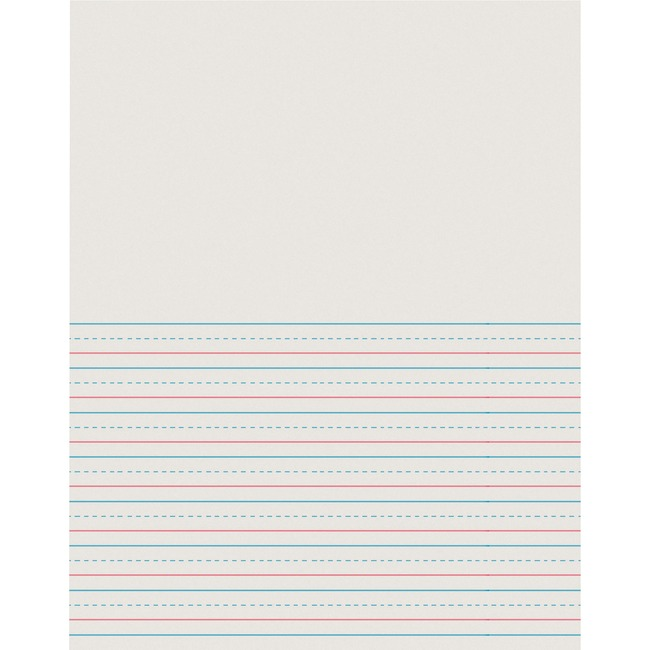 Pacon D'Nealian Ruled News Storybook Writing Pads - Letter