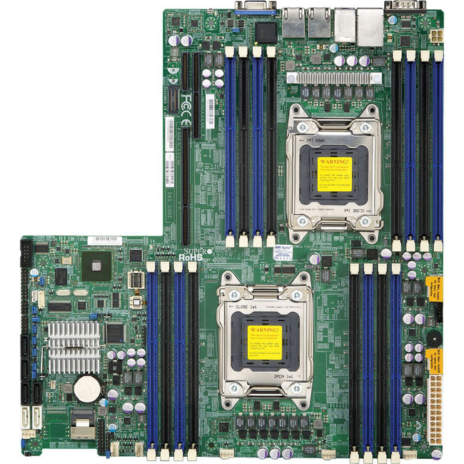 Supermicro X9DRW-iF Server Motherboard MBD-X9DRW-IF-O - Large