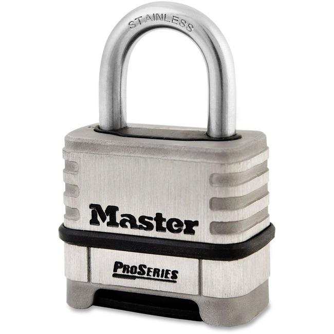 Master Lock ProSeries Stlss Steel Combo Lock