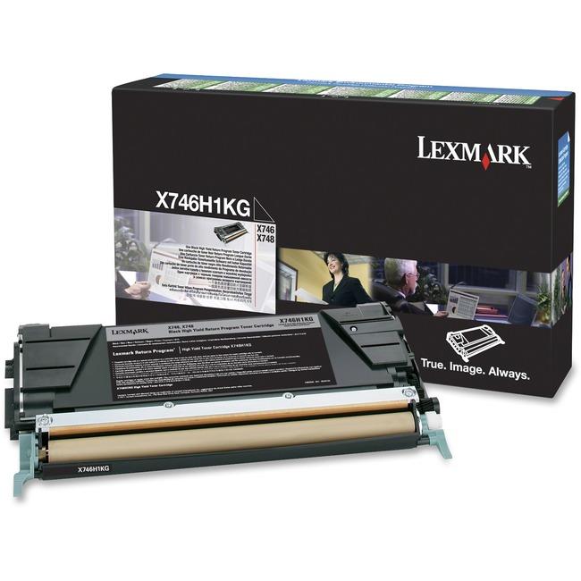 Lexmark X746H1KG Black High Capacity Toner Cartridge