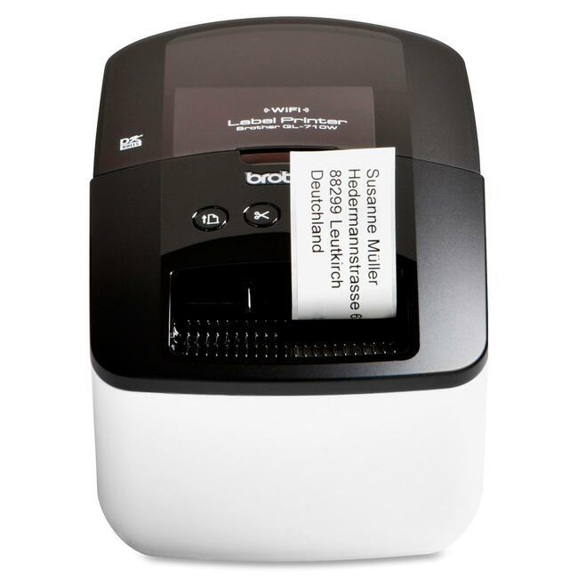 Brother QL-710W Direct Thermal Printer - Monochrome - Desktop - Label Print