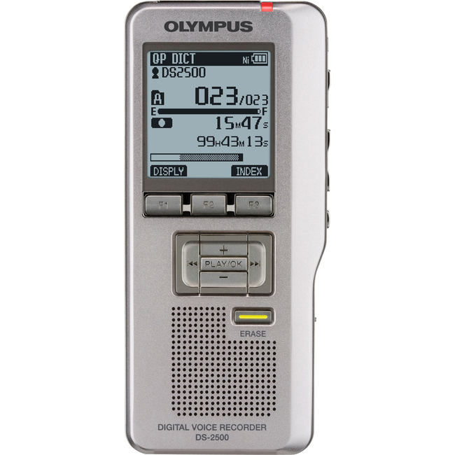 Olympus DS-2500 2GB Digital Voice Recorder