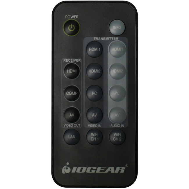 IOGEAR IR Remote Control for Wireless HD Kit