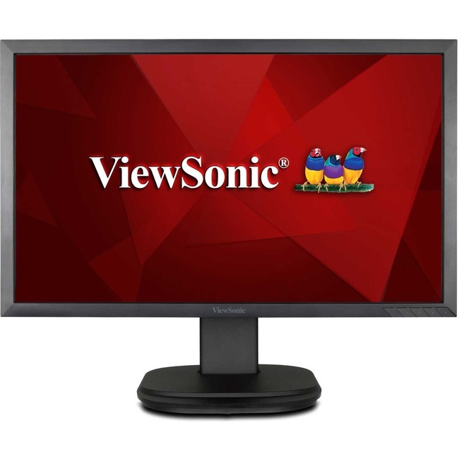 VIEWSONIC - LCD 22IN LED 1920X1080 1000:1 VGA DVI-D 3.5MM BLACK 5MS ERGONOMIC