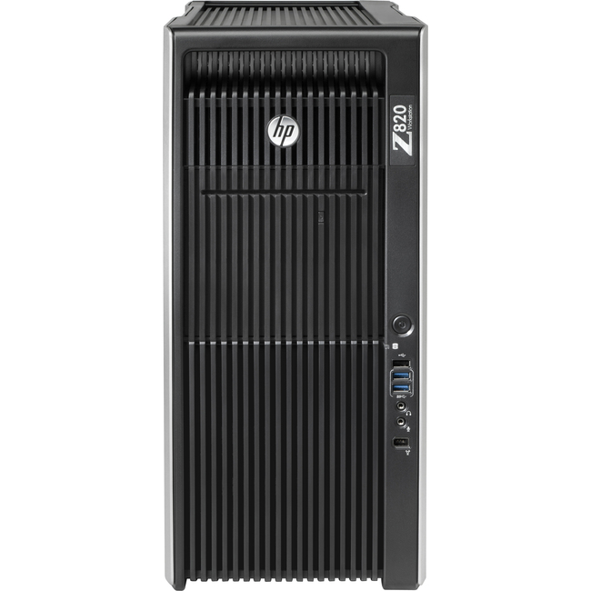 HP Z820 Workstation - Intel Xeon E5-2687W Octa-core (8 Core) 3.10 GHz - 16 GB DDR3 SDRAM - 250 GB HDD - Linux - Converti