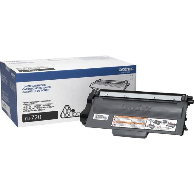 Brother TN720 Toner Cartridge - Large