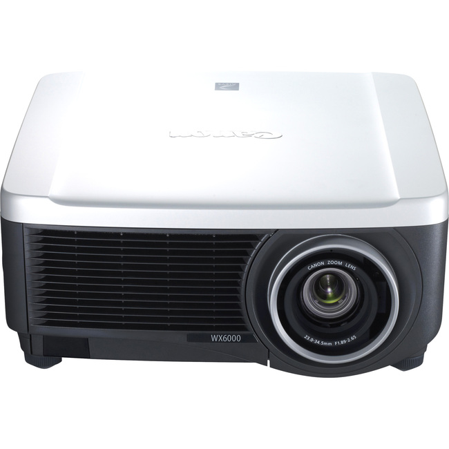 Canon REALiS WX6000 D LCOS Projector - 720p - HDTV - 16:10